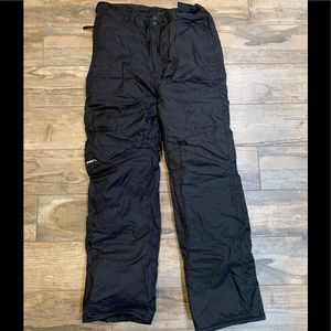 Mens M Arctix Snow Snowboarding Black Ski Pants